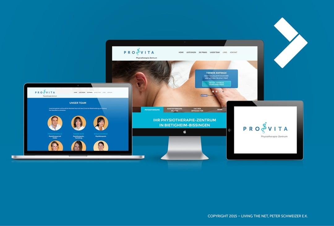 WebDesign Gesundheitswesen, Konzeption, Programmierung, Suchmaschinenoptimierung und Contentmarketing, Stuttgart, Ludwigsburg