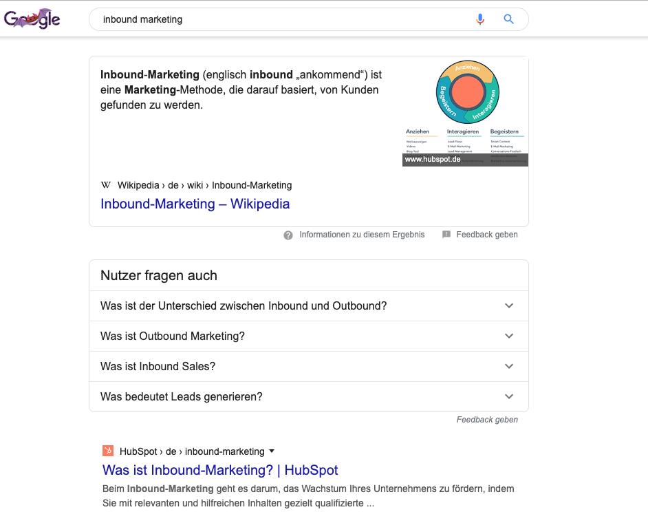 featured-snippet-position-zero-inbound-online-marketing-trends-2020